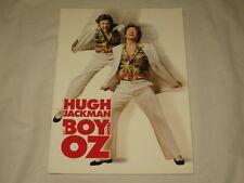 THE BOY FROM OZ - HUGH JACKMAN - PROGRAMME