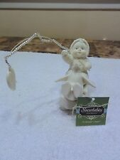 "Snowbabies Dept 56 Sentiments "" A Servants Heart "" With Box - Retired"