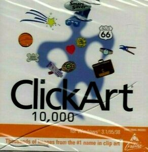 The Learning Company ClickArt 10,000 DISC ONLY #A402