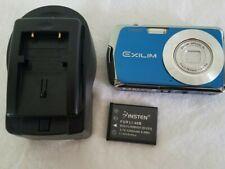 Casio EXILIM EX-S5 10.1MP Digital Camera - Blue *GOOD/TESTED*