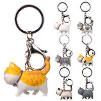 Cat Key Rings Cute Keychains Jewelry Pendant Cartoon Cat Bag Fashion Gift