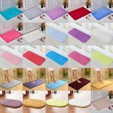 Bathroom Bath Anti Slip Shower Mats Rug Carpet Shaggy Soft Pvc Square Floor Rugs
