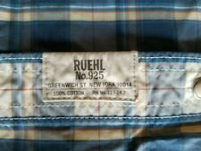 RUEHL No. 925 Mens Button up Shirt ultra soft cotton M
