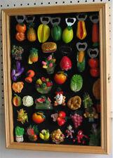 Fridge Magnet and Golf Marker Display Case Cabinet, glass door - MAG01-OAK