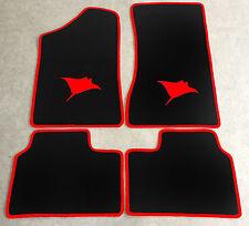 Autoteppich Fußmatten für Opel Manta B und CC  Rochen rot Neuware 4teilig
