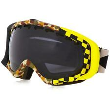 New Oakley Crowbar Snow Goggles Flight Series Camo/Dark Grey $140 59-545