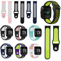 QUE Silicone Replacement Wrist Band Watch Strap For Fitbit Versa Smart Bracelet