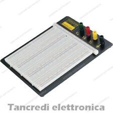 Breadboard 2390 punti fori contatti piastra sperimentale basetta arduino