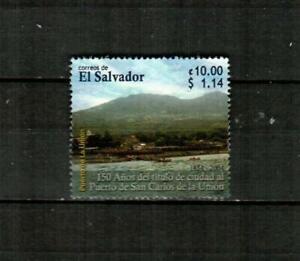 EL SALVADOR Scott's 1619 ( 1v ) Puerto de San Carlos F/VF Used ( 2005 ) #4