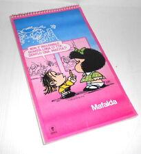 MAFALDA 1990 Quino Artena italy maxi memo pad - bloc notes grande
