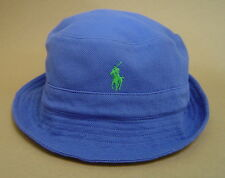 0ee5f96dd88 Polo Ralph Lauren Men s 100 Cotton Blue Royal Mesh Bucket Hat Size ...