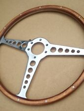 Jaguar XKE/E-Type Wood Steering Wheel