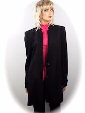 BLACKY DRESS  EXKLUSIVER LONG BLAZER  SCHURWOLLE   Gr. 36/38   NEU