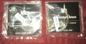 Disney Alex & Ani Santa Mickey JOY Charm Bracelet Bangle Gold Or Silver You Pick