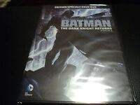 """COFFRET 2 DVD NEUF """"BATMAN, THE DARK KNIGHT RETURNS - PARTIE 1"""" dessin anime"""
