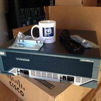 CISCO3845-HSEC/K9 AIM-VPN/HPII-PLUS 15.1 IOS 512D/128F w/ Dual AC Power Supply