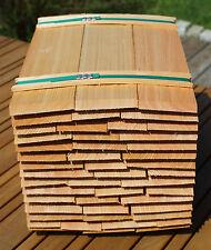 Lärchenschindeln 40cm, gespalten Holzschindeln Gartenhaus Spielhaus Backofen