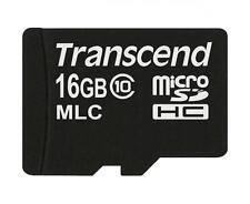 16 Go Carte Micro SDHC Transcend de la série de Calibre Industrielle 10M