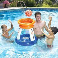 Pool Basketball Slam Dunk Game Swimming Hoop Fun Water Poolside Floating Toy New