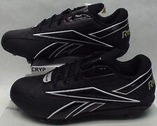 New Mens 13.5 Reebok RBK NFL Thorpe Low D Black Football Cleats Shoes 9d88479d0