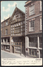 Cheshire Postcard - God's Providence House, Chester  DR385