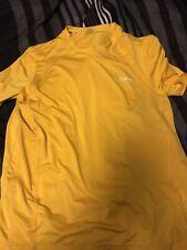 Medium Yellow Reebok Mens Shirt