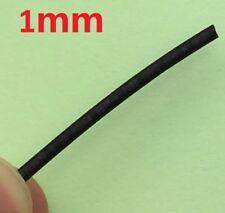 DIAMETRO 2 M 1 MM nero il calore Strizzacervelli Tubazione CAVI GUAINA CAVO TUBO