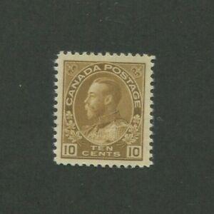 1925 Canada Postage Stamp #118 Mint Hinged VF Original Gum