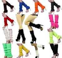 Women Winter Warm Leggings Knit Crochet High Knee Leg Warmers Boot Socks New