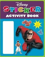 Very Good, Disney Pixar Sticker Activity Book (Disney Sticker Activity), , Book