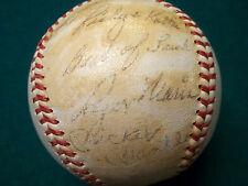 1960s MICKEY MANTLE ROGER MARIS SIGNED AL BASEBALL JSA LOA NY YANKEES BABE RUTH