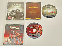 2 Sony PS3 Playstation 3 Games Fallout New Vegas & Fallout 3 UK FREE POST