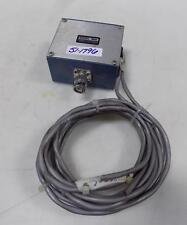 POMONA ELECTRONICS BLUE ALUMINUM DIE CAST BOX 3601 W/ ALPHA WIRE