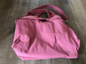 Lululemon On My Level Tote Bag Cherry Tint