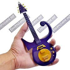 Mini Guitar scale 1:4 PRINCE purple rain tribute miniature gadget collectible