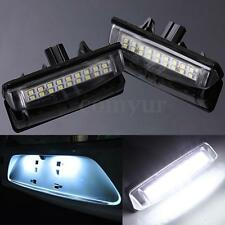 2x ERROR FREE LED NUMBER LICENSE PLATE LIGHT FOR LEXUS IS200 IS300 GS300 ES300