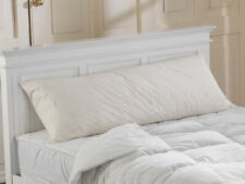 Extra Thick 36 Inch Duck Feather Filled 100 Cotton Percale Pillow