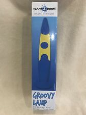 """New Room To Room 13"""" Groovy Lamp Lava Wavy Navy Color"""