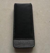 iPod Nano 5G 5th Gen Premium Black Leather Case Cover Skin BRAND NEW