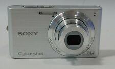 """Sony Cyber-shot DSC-W610 Digital Camera 14.1MP 2.7"""" 4x OZ Good Condition"""