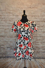 Modcloth Belle of the Bistro dress NWT Sz 8 Shift dress Girls on Film red black