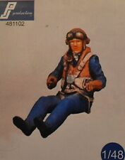 New Listing1:48 Raf Rn Ww2 pilot Pj Production resin Hurricane Spitfire