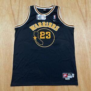 100% Authentic Jason Richardson Vintage Nike Warriors Swingman Jersey Size XL 48