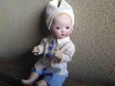 """Bleuette Brother Outfit For 10"""" Baby Doll. GL Copy 3 Piece Set. Fits Bambino 10"""""""