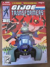 SDCC 2012 GIJOE Transformers Crossover - Shockwave Destro HISS Tank NIB