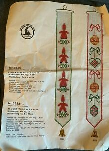 Marks Swedish Bell Pull Christmas Embroidery Cross Stitch Kit Wall Hanging