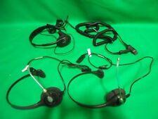 Lot 3x HeadSet 2x Plantronics 11-09H25 1x Labtec Go 440