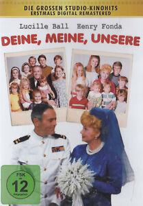 Deine, Meine, Unsere - DVD - mit Henry Fonda, Lucille Ball - *NEU*