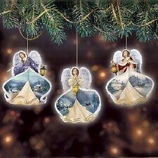 Winter Angels of Light Ornaments Thomas Kinkade Issue Number 2 Bradford Exchange