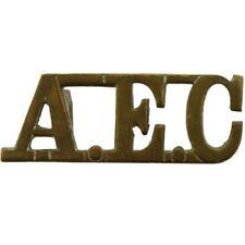 Original Royal Army Educational Corps AEC Shoulder Title Badge - MY70